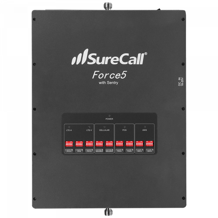 SureCall Force5 2.0 Booster Front