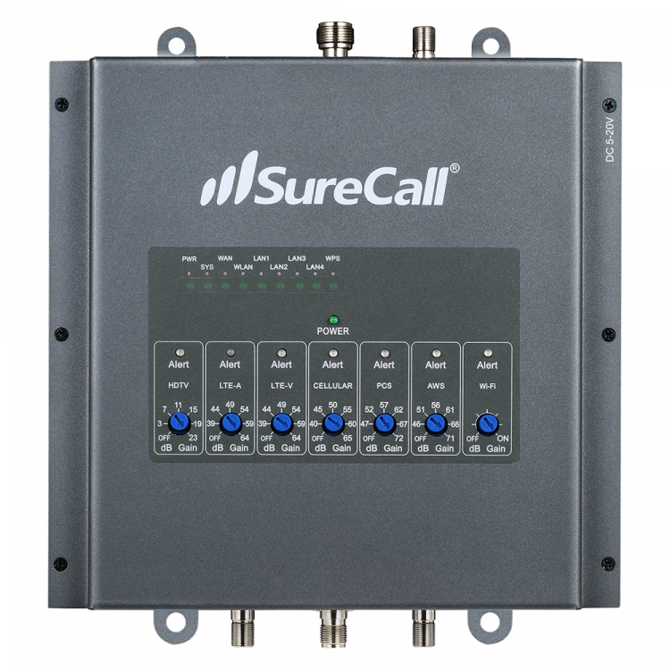 SureCall Fusion7 Booster Front