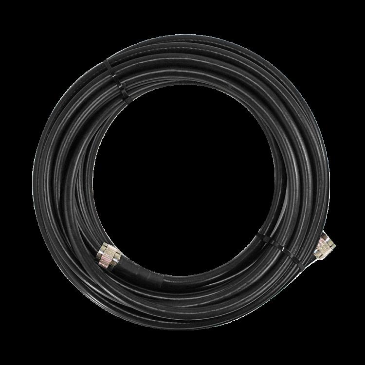 SureCall 400 Black Coax Cable 100 foot SC-001-100