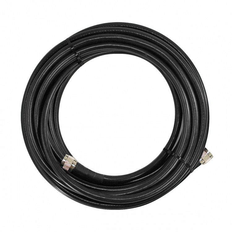SureCall 400 Black Coax Cable 75 feet SC-001-75