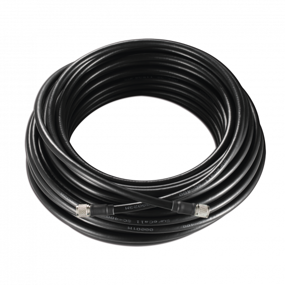 SureCall 400 Black TNC Coax Cable 75 feet SC-001-75-TNC