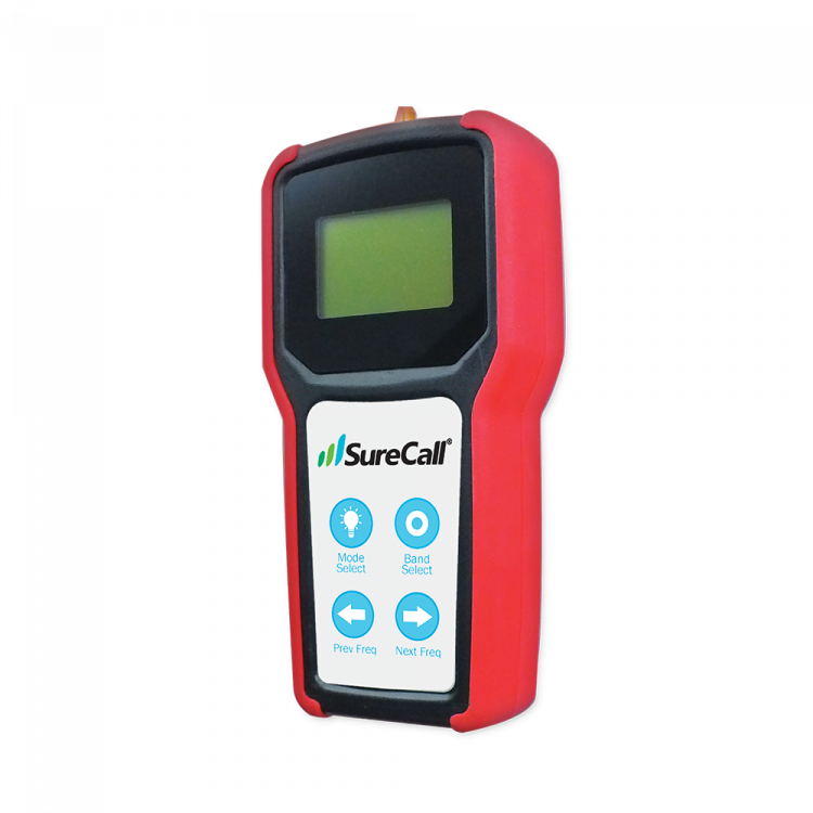 SureCall RF Signal Meter SC-METER-01 Side View