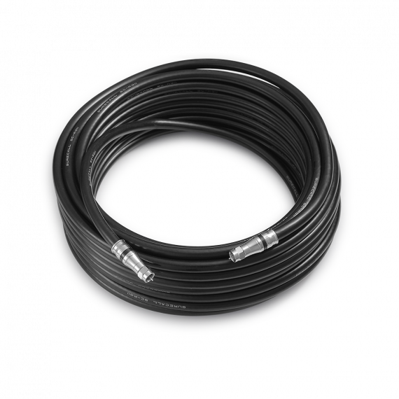 SureCall RG-11 Black Coax Cable 100 feet SC-RG11-100