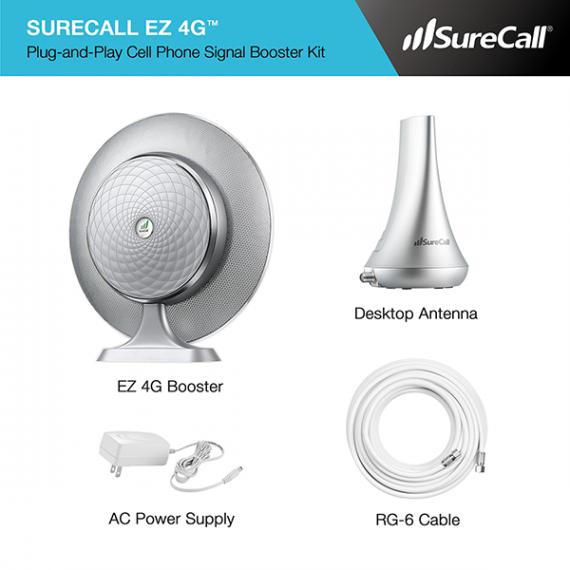 SureCall EZ 4G Kit Contents