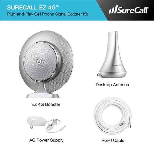 SureCall EZ 4G Kit Contents