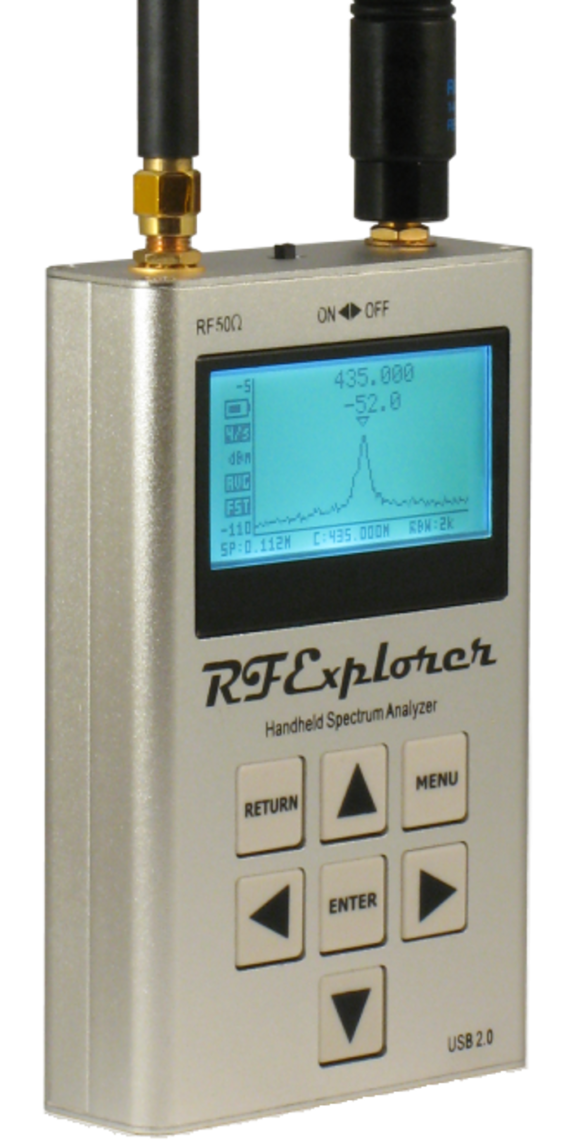 RF Explorer Handheld Spectrum Analyzers