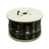 500' SC600 Ultra Low Loss Coax Cable. Connectors not included - Black SC-006-500